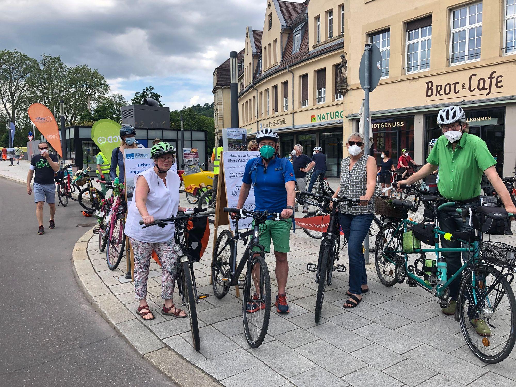 Erfolgreiche Pop-Up-Bike_Lane zum Weltfahrradtag